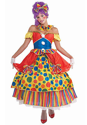 Belle of the Big Top - Adult Clown Costume (Belle Costumes Adult)