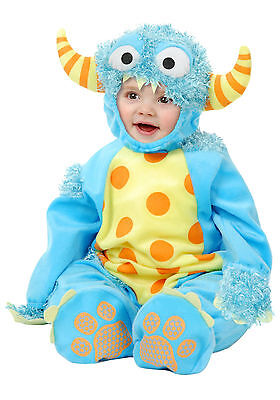 Mini Monster Boy or Girl Toddler Halloween Costume 2 Piece Set Sz L 18-24 mo NWT - Boys Monster Costumes