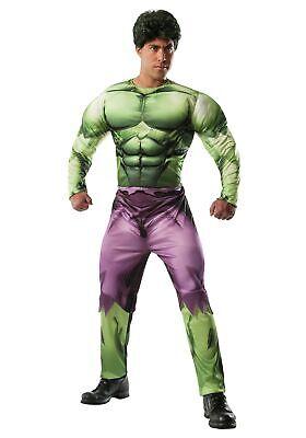 Deluxe Adult Hulk - Adult Deluxe Hulk Kostüm
