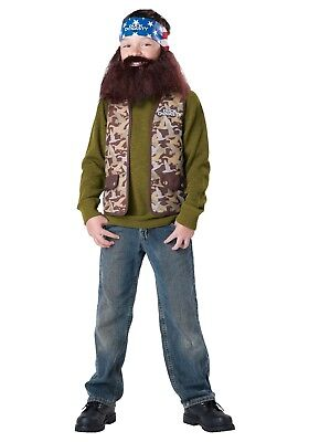InCharacter Duck Dynasty Boy's Willie Halloween Costume Child 8-10 Medium - Child Duck Dynasty Halloween Costumes