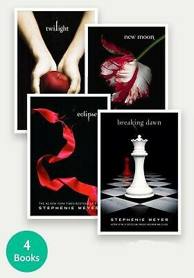 The Twilight Saga Quart Series Full Set Stephenie Meyer🔥book collection 1-4🔥✅