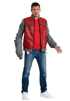 Back To The Future Costume (MEN'S BACK TO THE FUTURE II MARTY MCFLY JACKET COSTUME SIZE XS M (with)