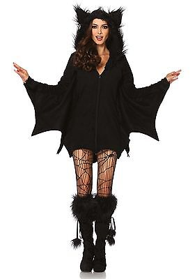 LAG Leg Avenue 85311 Sexy Damen Kostüm Cozy Bat Fledermaus Vampir Blut S-4XL