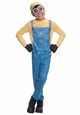 Kinder Jungen Minion Bob Ich - Einfach Unverbesserlich Kleid Kleid (Einfacher Junge Kostüme)