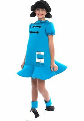 Peanuts Lucy Girls Costume - Peanuts Lucy Costume