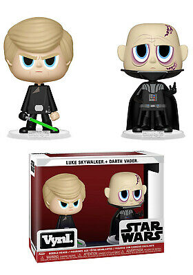 Star Wars DARTH VADER & LUKE SKYWALKER - Funko VYNL POP Figure Bobbleheads