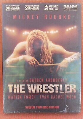 THE WRESTLER // MICKEY ROURKE  -- !!! NEW & SEALED - TWO DISC EDITION   !!!