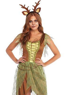 LAG 86748 Leg Avenue Hirsch Reh Woodland Fawn Wild Tier Fasching Damen Kostüm