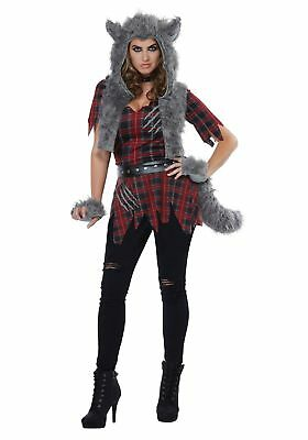 Womens She-Wolf Costume - Womens Wolf Kostüm