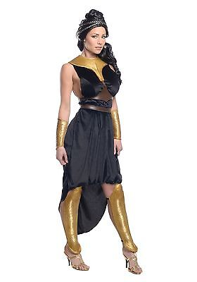NEW WOMEN'S 300 MOVIE DELUXE QUEEN GORGO COSTUME SIZE MEDIUM (with defect)