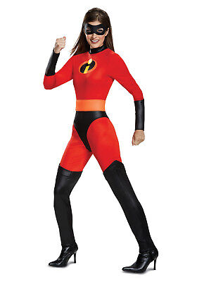 The Incredible Costume (The Incredibles 2 - Mrs. Incredible 2 Adult Costume -)