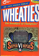 Dallas Cowboys Wheaties Box