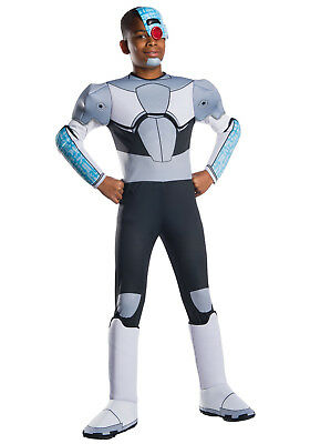 Titans Costume (Teen Titans Go! - Cyborg Deluxe Child)