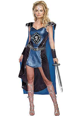 King Size Halloween Costumes (THE KING SLAYER GLADIATOR ADULT HALLOWEEN COSTUME WOMEN'S SIZE)