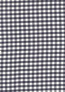 Navy-Blue-White-1-4-Gingham-check-fabric-material