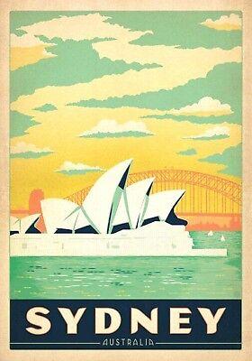 Magnet  Travel Photo Magnet Sydney Australia Opera House