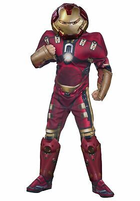 Hulk Buster Child Iron Man Avengers Superhero Costume (E)](Baby Hulk Costumes)