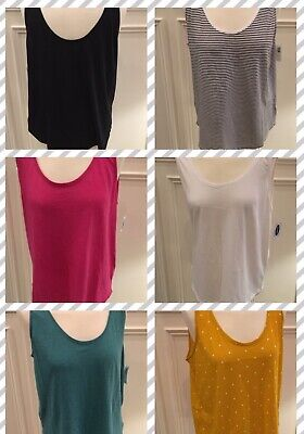 Old Navy Scoop Neck Tank Top in Size S, M, L, XL, XXL - Brand New!](Old Olds)