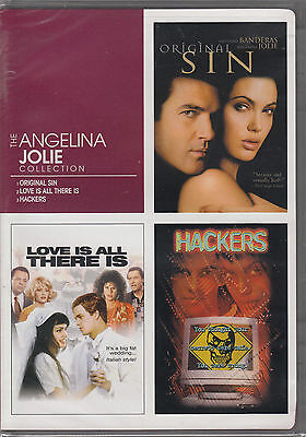 New The Angelina Jolie Collection  Dvd  2006  3 Disc Set  New
