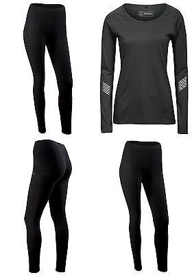 Ladies Gym Active Workout Exercise Clothes Top Leggings Size 6 8 10 12 14 16 SP