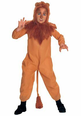 Child Cowardly Lion Costume](Lion Kids Costume)