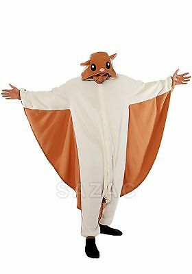 SAZAC Flying Squirrel Kigurumi - M+ & XL Halloween Costume from USA](Halloween Squirrel Costume)