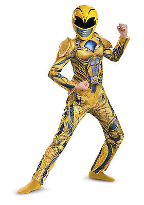 Power Rangers Movie (2017) - Yellow Ranger - Deluxe Child Costume](Power Ranger Costume Yellow)
