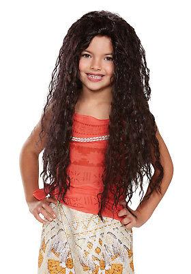 Disney Princess Moana Deluxe Child Wig  ()