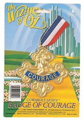 Lion Courage Wizard Of Oz (Wizard of Oz Cowardly Lion Badge of)