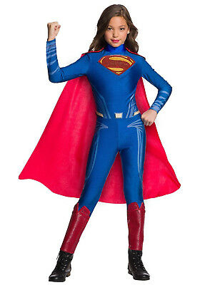 Justice League - Girl's Superman Child Costume - Justice League Girl