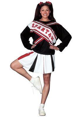 WOMENS SPARTAN CHEERLEADER COSTUME SIZE XL - Spartan Cheerleader Costumes
