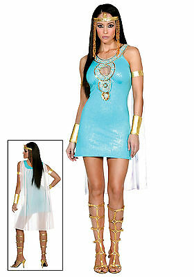 Dreamgirl Women's Queen of Da Nile Cleopatra Sexy Adult Costume Size Large 10-14 - Costume Of Cleopatra