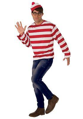 Where's Waldo Adult Costume (Waldo Costumes)