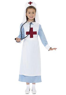 Girls WWI Nurse Costume - Nurse Costumes For Girls
