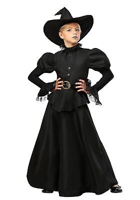Classic Black Witch Girls Costume - Witch Costumes