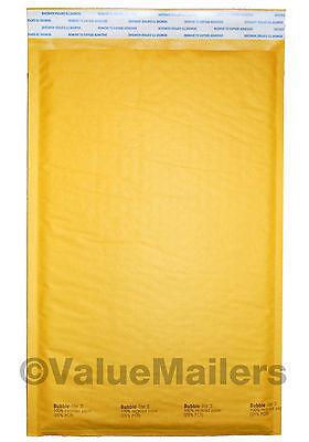 100 3 8.5x14.5 Bubble - Lite Kraft Bubble Mailers Padded Envelopes Bags