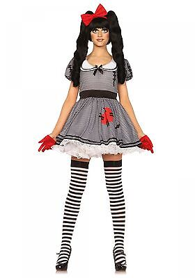 LAG Leg Avenue 85379 Sexy Damen Kostüm Puppe Voodoo Doll Wind Up Doll  (Wind Up Kostüm)