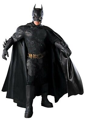 ADULT AUTHENTIC DARK KNIGHT BATMAN COSTUME SIZE XL (Used)