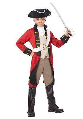 Boys British Redcoat Costume