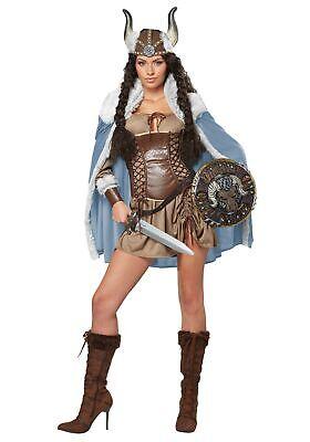 Women's Viking Vixen Costume - Viking Vixen