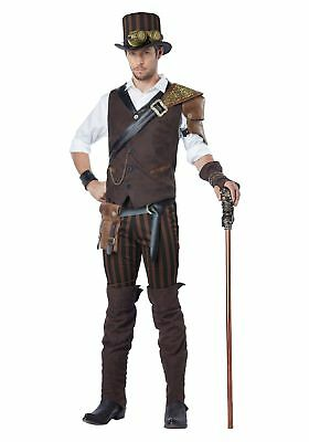 Male Steampunk Costumes (Adult Steampunk Adventurer)
