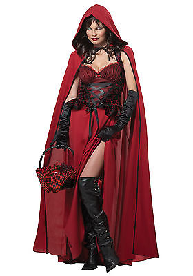 Dark Red Riding Hood - Adult Costume