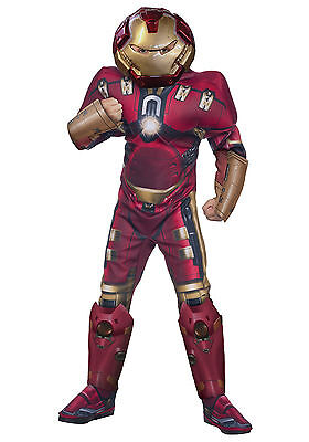 Age of Ultron - Hulk Buster Iron Man Child Muscle Costume](Baby Hulk Costumes)