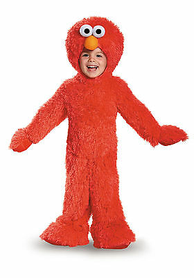 Elmo - Sesame Street - Deluxe Infant/Toddler Costume - Infant Sesame Street Costumes