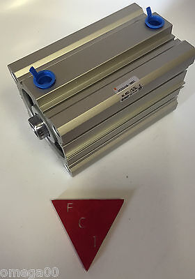 Smc Ncdq2a80-100dc Pneumatic Cylinder 80mm Bore 100mm Stroke New In The Box