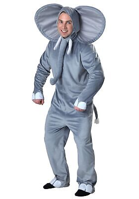 Plus Size Happy Elephant Costume](Elephant Man Costume)