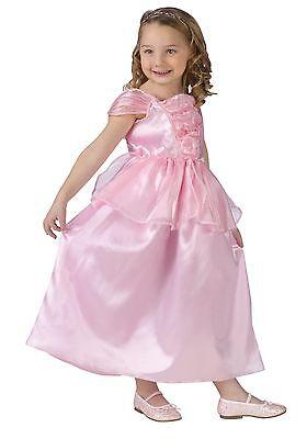 Girls Pink Rapunzel Costume Princess Fancy Dress Toddler Child S M L Kids - Rapunzel Costume Toddler