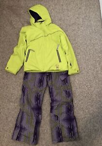 Size 10 Girls Spyder Snowsuit