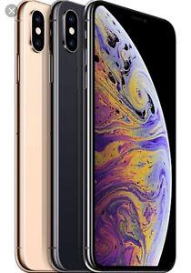Iphone x max unlocked