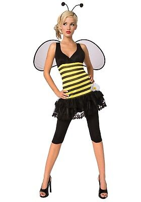ADULT HONEY BEE COSTUME WOMEN SIZE MEDIUM (8-10)